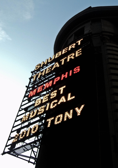 Theatre on Broadway in New York