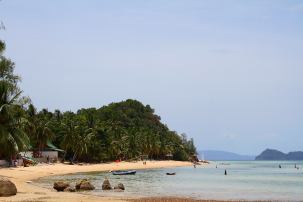 Beach on Koh Phangan, Thailand