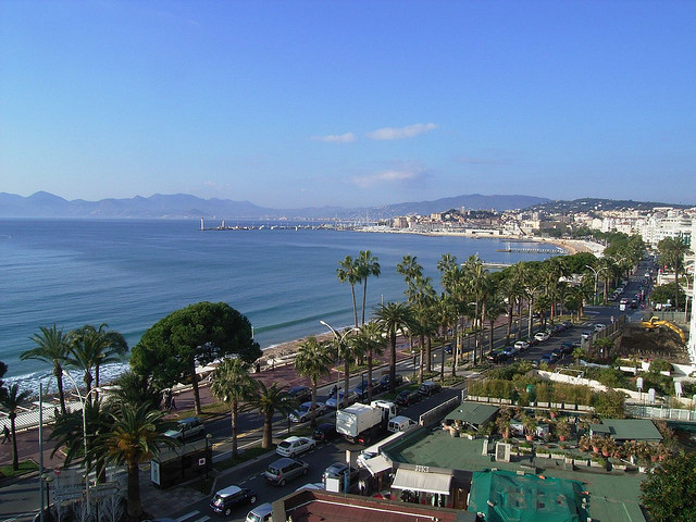 Cannes view in France
