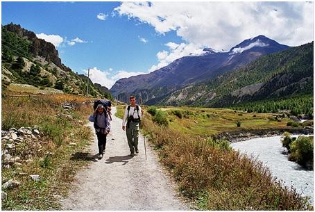 Trekking in Annapurna region, Nepal