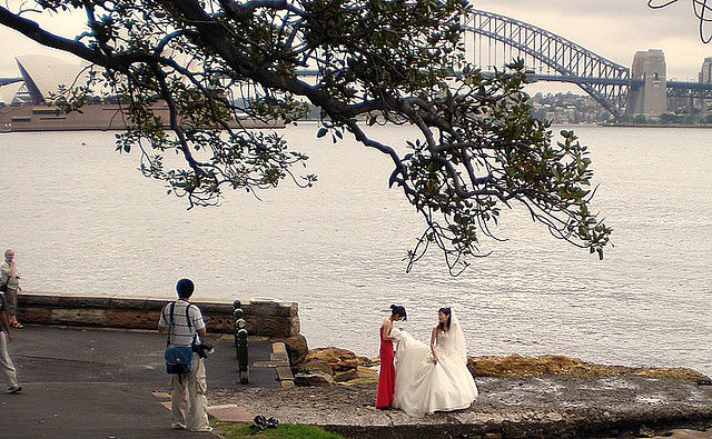 Wedding with a beautiful view in Sydney