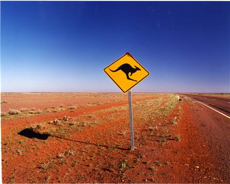 Great Central Road, Australia