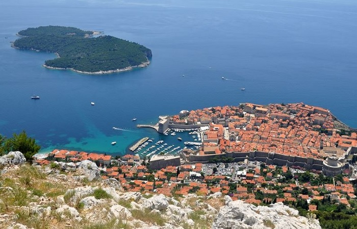 Lokrum Island in Dubrovnik, Croatia