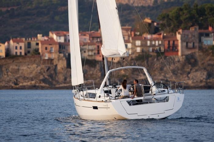Yacht in Dubrovnik, Croatia