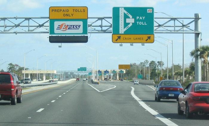 Toll road in Australia