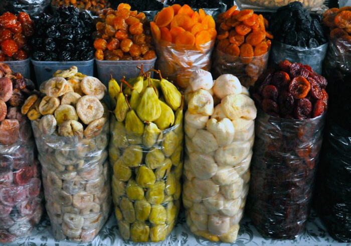Dried fruit in Armenia