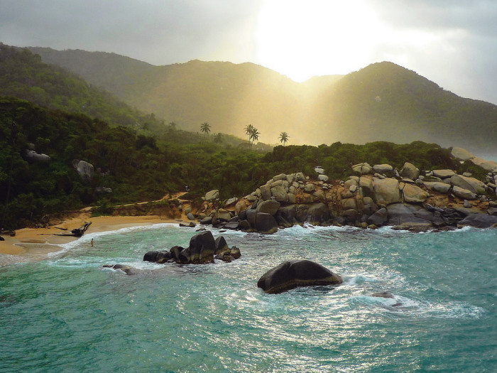 tayrona national park columbia